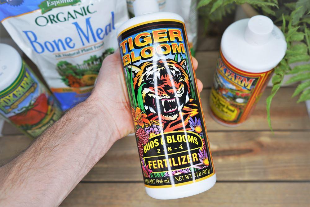Fox Farm Tiger Bloom fertilizer